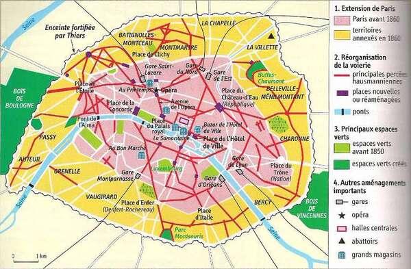Le nord du quinzième arrondissement