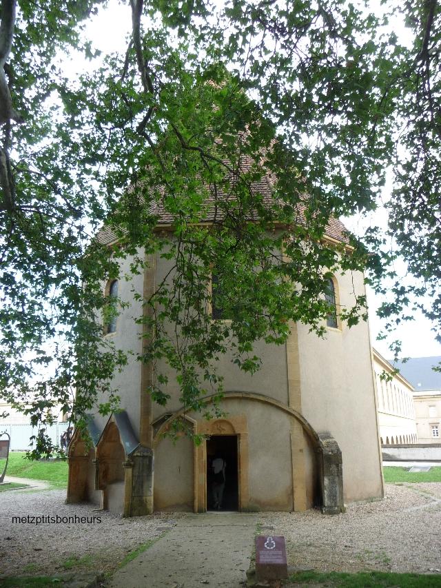 La chapelle des eTempliers.