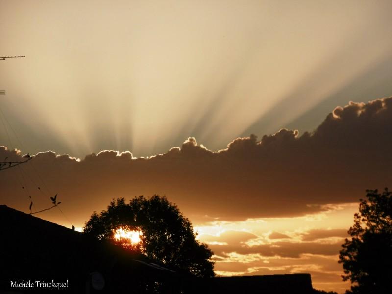 Le ciel au matin du 13 octobre...