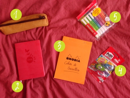 Back to school - Mes achats