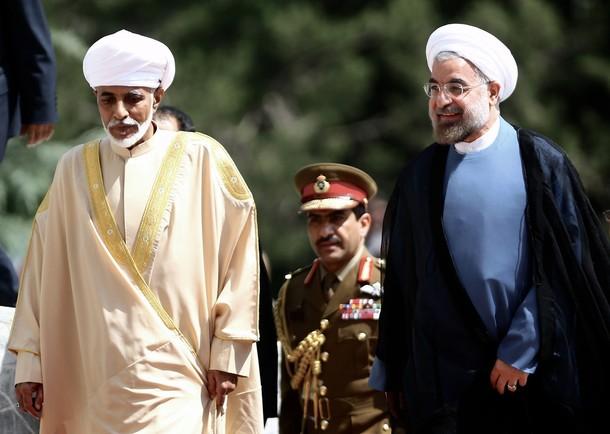 Qaboos en Iran