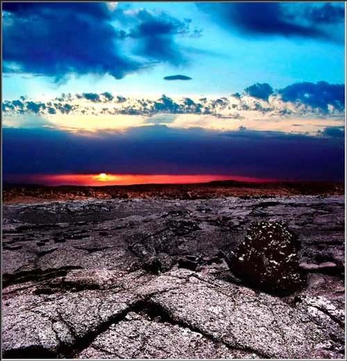 Patrimoine mondial de l'Unesco :  Le parc national des Volcans d'Hawaïi - Etats-Unis