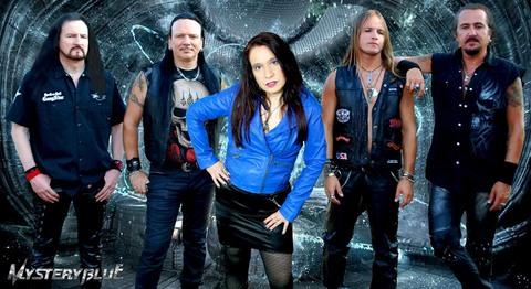 """MYSTERY BLUE dévoile le nouveau titre """"Legions Of Metal"""""""