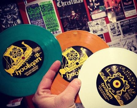 The Hooligan - Le vinyl tricolore