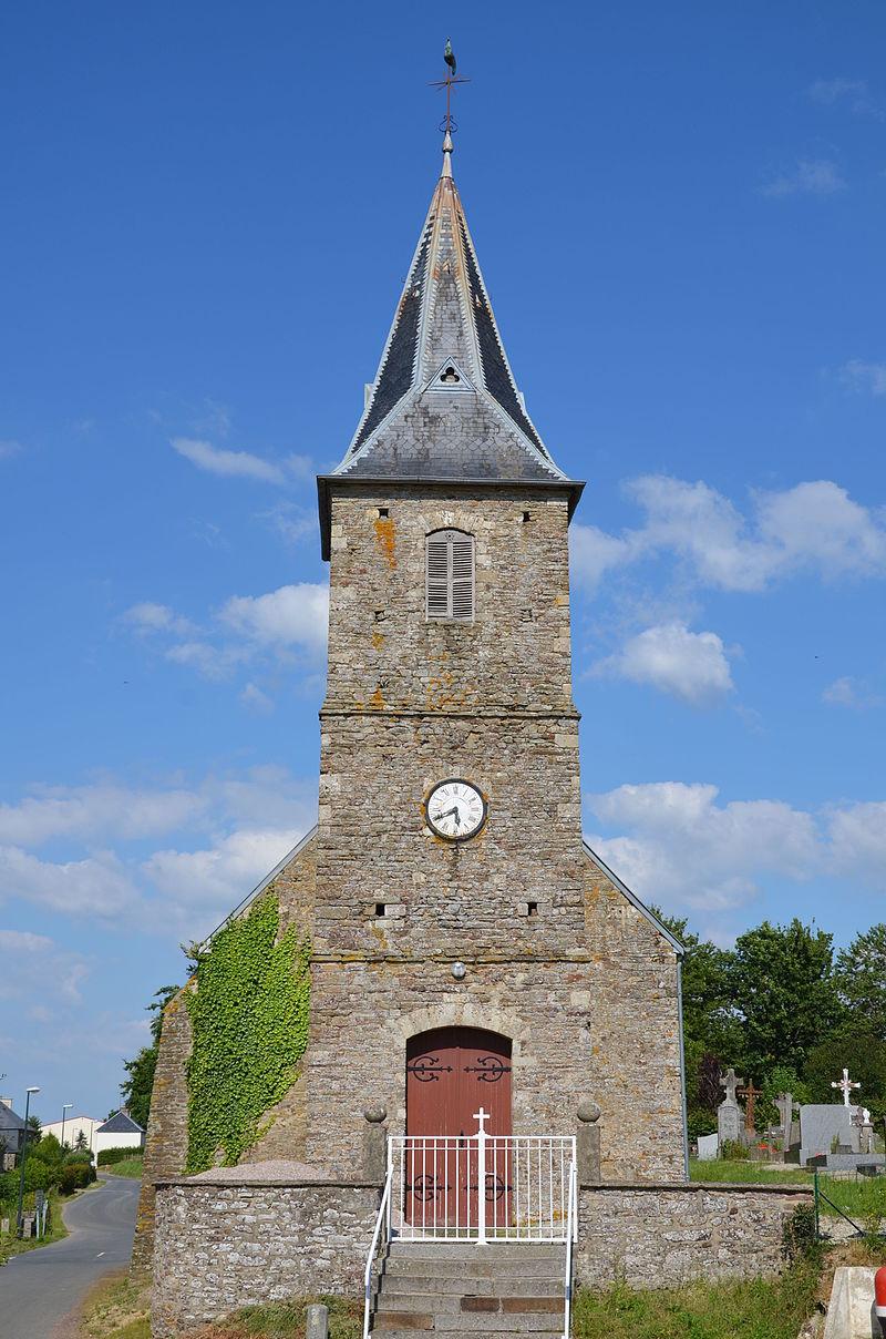 Les Loges (Calvados) - Eglise Saint-Martin (1).JPG