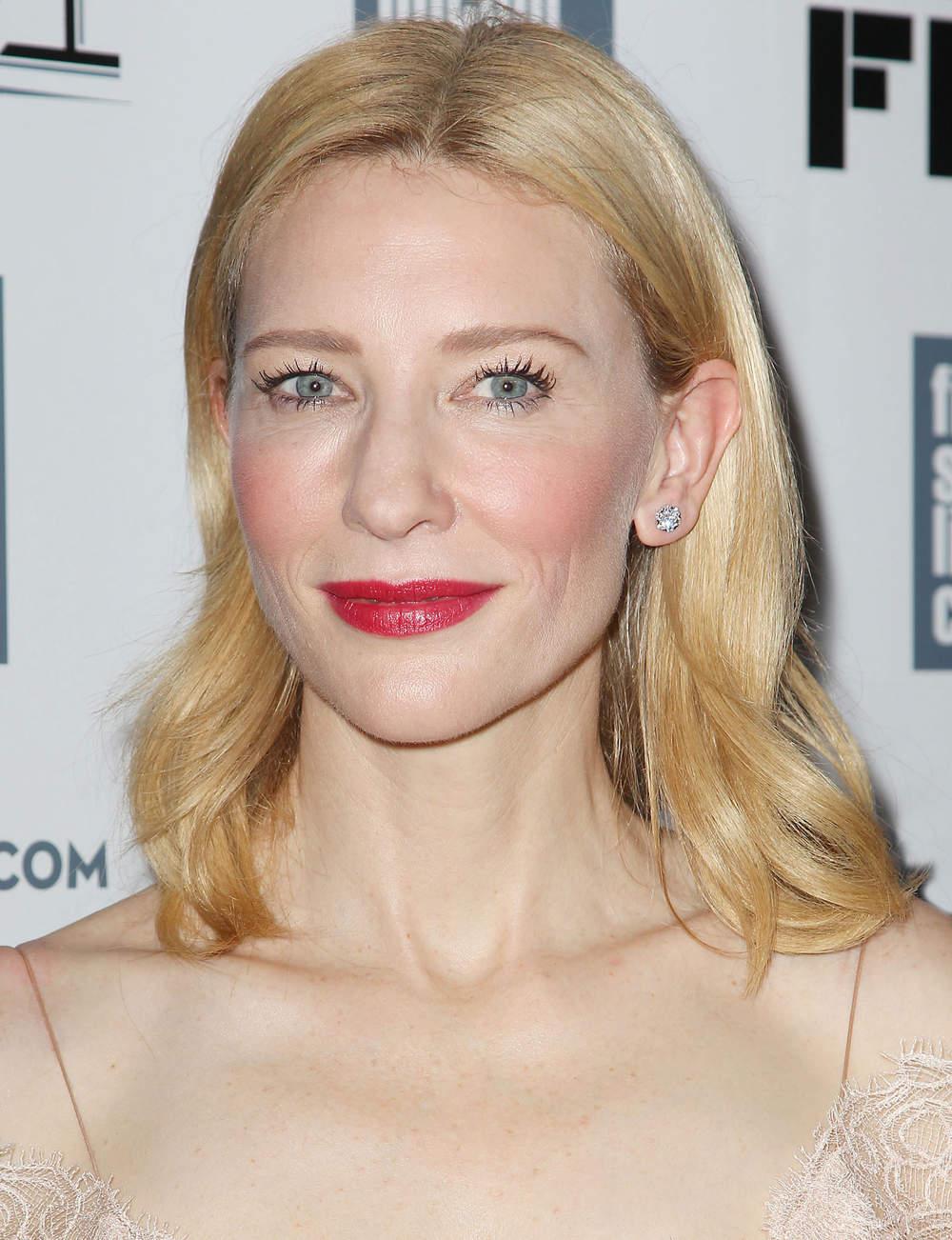 La raie centrée de Cate Blanchett