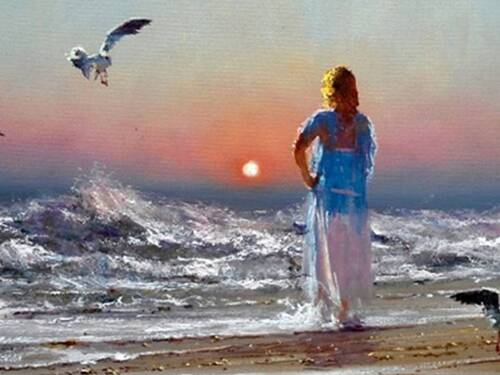 ROBERT HAGAN, Peintre australien. ARTS