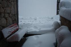 C'est l'hiver à Korbelwiller.