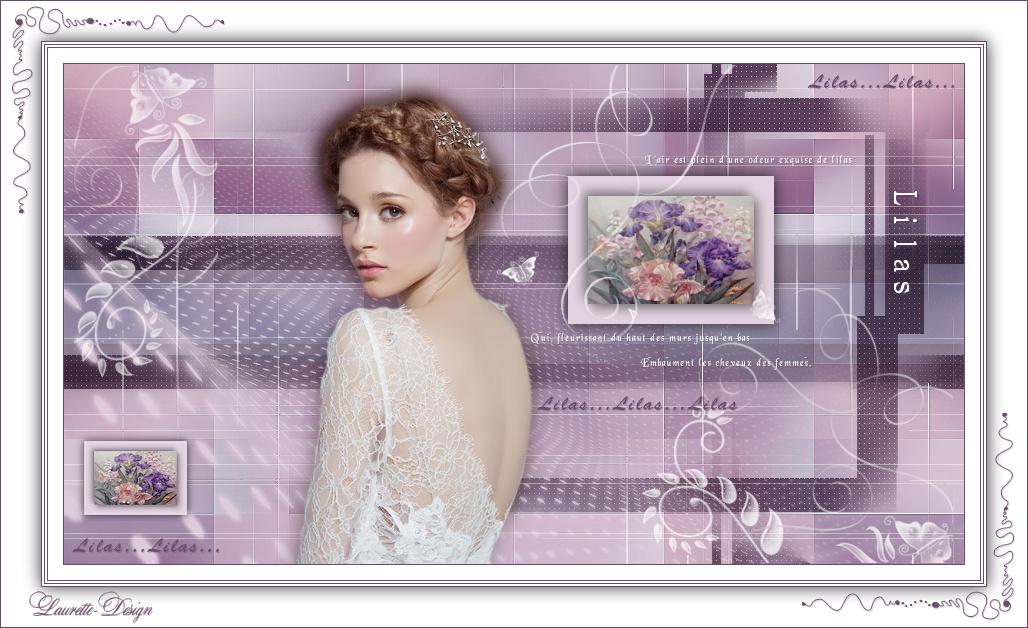 Lilas de violette