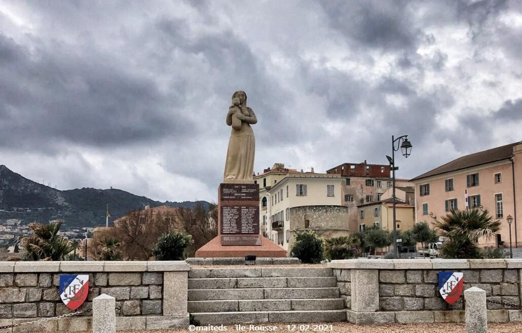 Monument aux morts - Ile-Rousse
