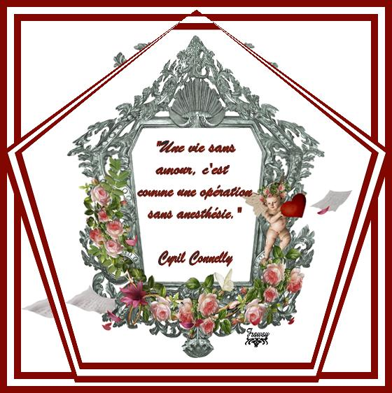 Citation de Cyril Connolly:  Un Gant de Velours