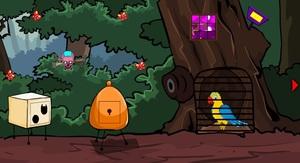 Jouer à Rainbow parrot escape