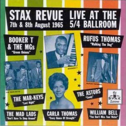 """ Stax Revue Live at the 5/4 Ballroom , Los Angeles , 7th & 8th August 1965 "" Stax Records CDSXD 040  [ UK ] en 1991"