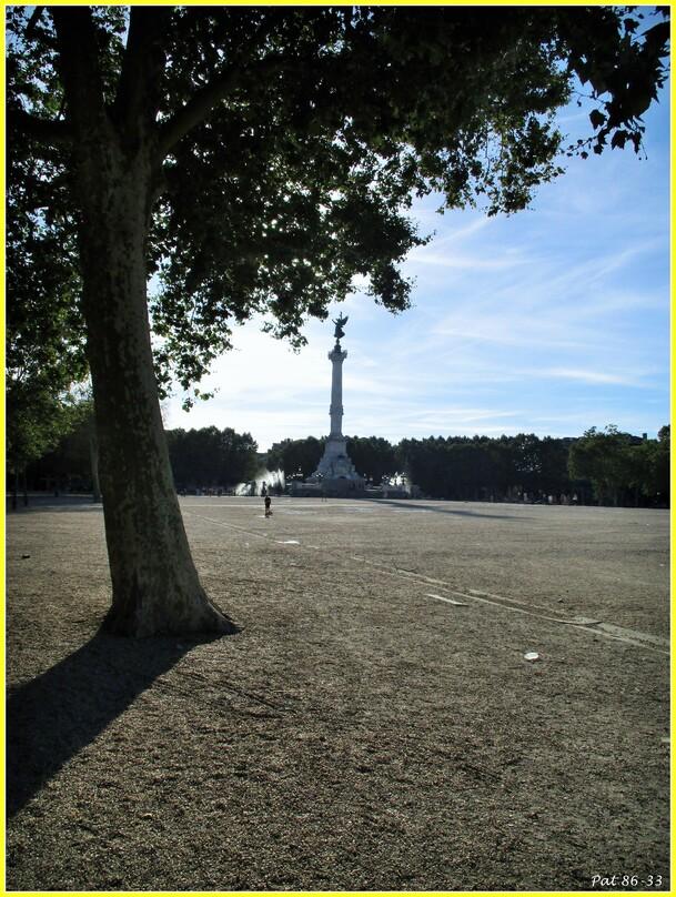 l'esplanade des Quinconces