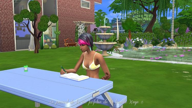 Sims 4 Le journal de la vie farfelue de la famille Keye Episode 2: Lori
