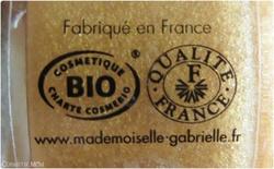 Gommage Douceur en or de Mademoisele Gabrielle