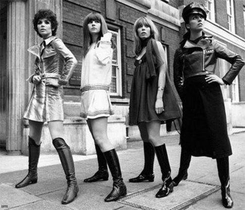 Les années 60/70 La mode  en musique