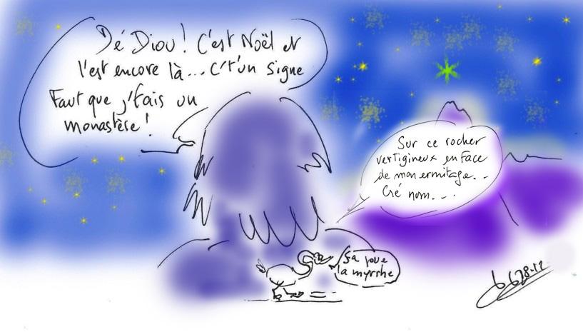 Smon le Myrrhoblite/Mont Athos/Saint du jour