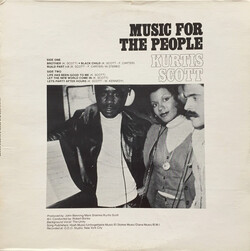 Kurtis Scott Inc. - Music For The People - Complete LP