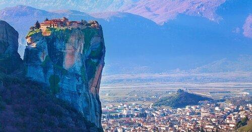 MÉTÉORES (Grèce)  (Voyages)