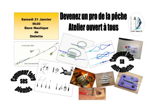 Samedi 21 janvier, Atelier fabrications de mitrailletes et coulage de plombs !