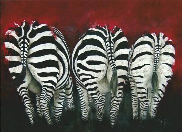 Peinture de : Brigitte Morisse