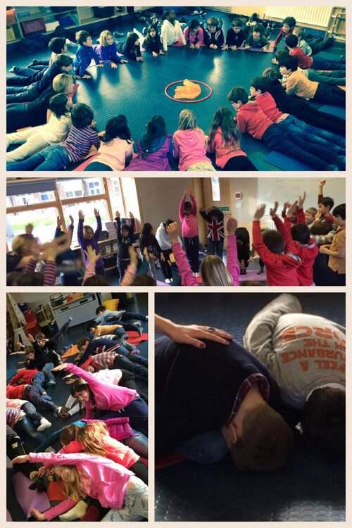 Yoga en CE2