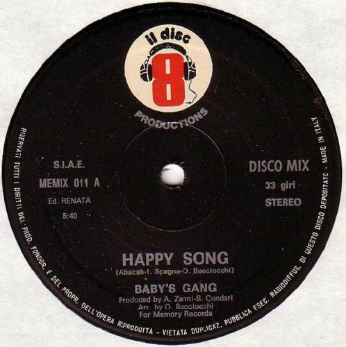 Baby's Gang - Happy Song (1983)