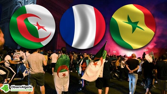 Je souhaite bonne chance à mes amis footballeurs algériens...