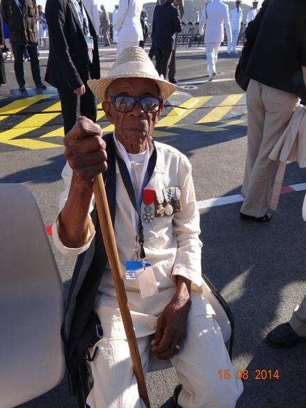 * RAKOTOZAFY, dernier vétéran malgache de la 1ère D.F.L.