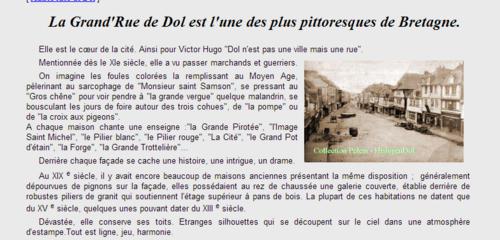 """""""""""  VISITE de DOL DE BRETAGNE.....( 35 I&V)"""
