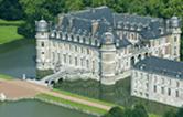 6000 amaryllis au château de Beloeil (B), le 3 avril