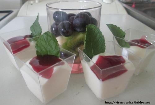 Salade de Fruit au fromage blanc