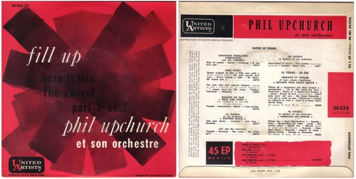 PHIL UPCHURCH - FRENCH EP