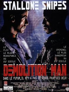 DEMOLITION MAN BOX OFFICE FRANCE 1994