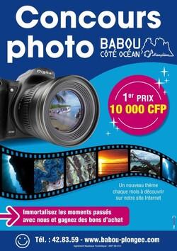 Le concours photo de Babou Côté Océan à l'affiche - Cliquer pour agrandir.