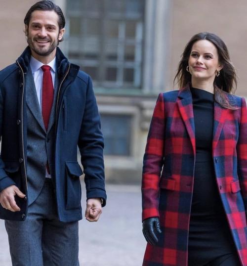 C.P. et Sofia de Suède