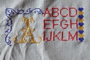 Alphabet cœurs ! vos broderies