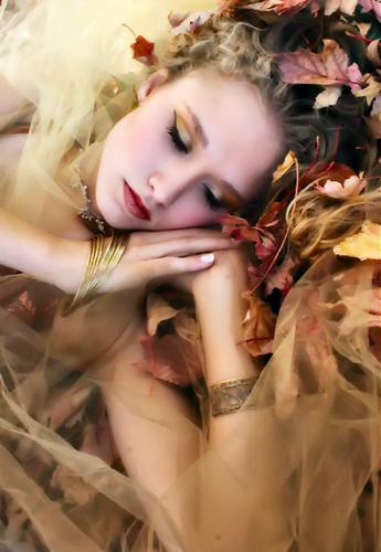 tubes femmes, automne