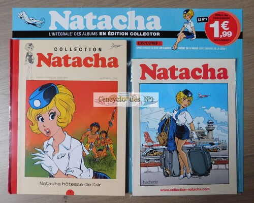 N°1 Collection BD Natacha - Lancement