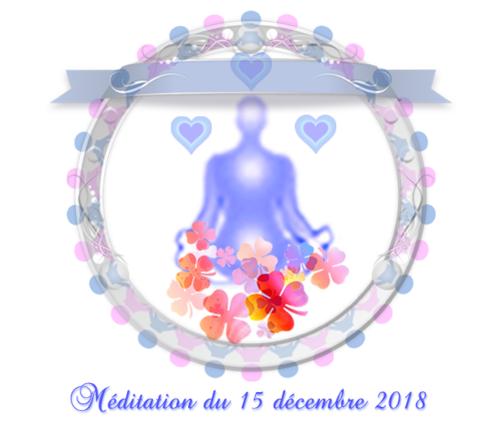 Méditation du premier quartier de lune du 15 décembre 2018