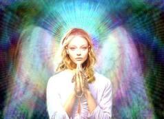 woman angel beauty