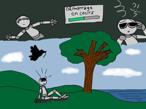 Le robot qui aimait la nature-partie 2