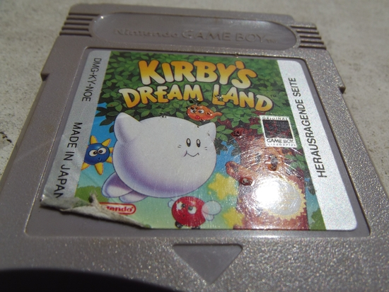 Kirby's Dream Land j