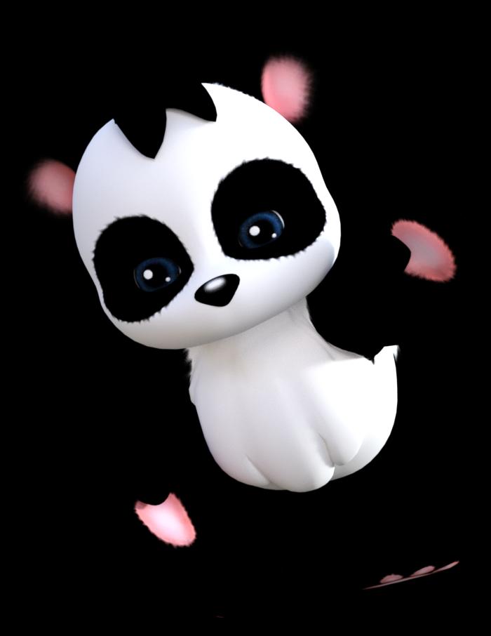 Petit panda mignon (image-tube)