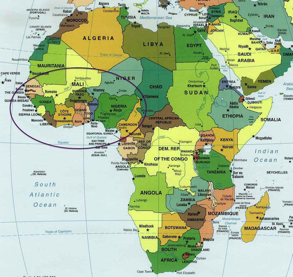 Séquence 1: La musique de l'Afrique de l'ouest: - Musique ...