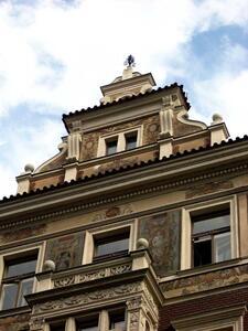 Prague : les façades peintes (1)