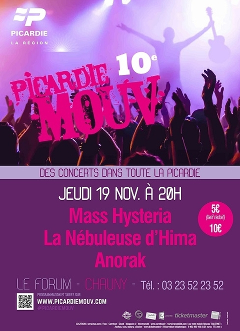 PICARDIE MOUV' - Chauny - 19-11-2015_Affiche Chauny