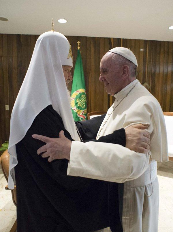 Le patriarche Cyrille et le pape François - La Havane © L'Osservatore Romano