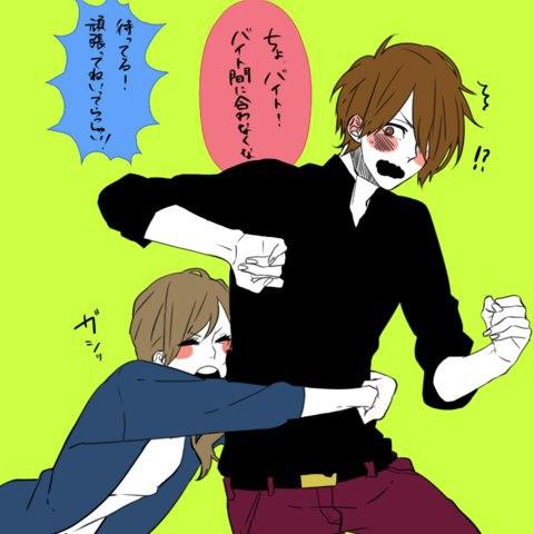 Image de anime, art, and love